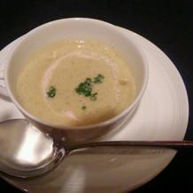 スープも絶品です。