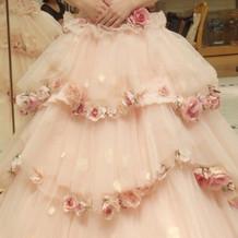 バラの可愛らしいピンク