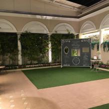 1番広い披露宴会場ガーデン
