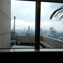 雲っていますが、東京タワー