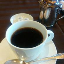 深煎りのコーヒー
