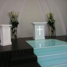 祭壇の様子
