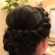 希望のヘアスタイル