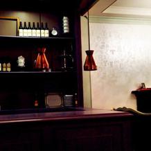 打ち合わせ室の簡易オープンキッチン