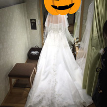 プラス8万円ドレス後ろ姿