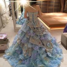 第二候補だった素敵なドレス