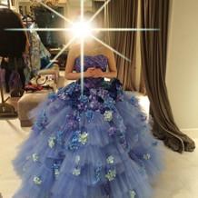 当日着た運命のドレス