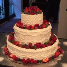ケーキのデザインもリクエストがきく
