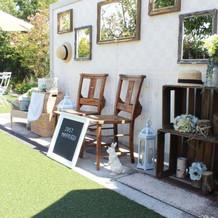 ガーデンのフォトスペース!