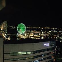 夜景も素晴らしいです