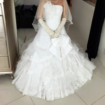 新婦ウェディングドレス