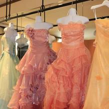 カラードレス各種