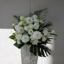 挙式会場の装花