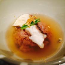 ご飯(鯛茶漬け)
