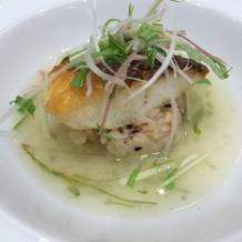 お魚がパリパリで美味しかったです