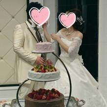 ウェディングケーキ☆
