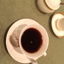 コーヒーも頂きました