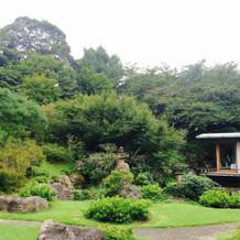 庭園。都会とは思えない程の緑でした。