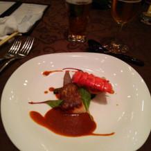 オマール海老と真鯛のロースト