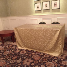披露宴会場の1番手前の部屋です