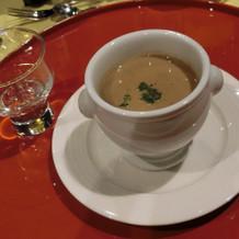 季節のポタージュスープ