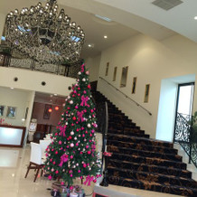 クリスマスツリーがあった