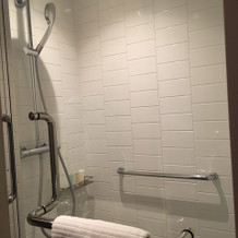 前泊の部屋の浴室