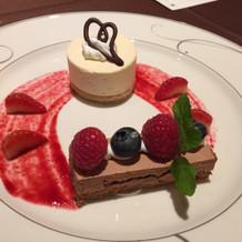 デザート1皿目