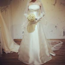 プラン内のドレスも素敵でした。