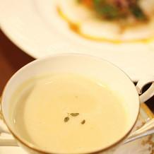 季節のお野菜のスープ