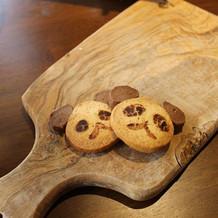 お願いしてパンダにしてもらったクッキー