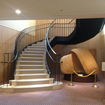 写真を撮るにはぴったりの階段