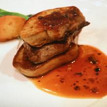 牛フィレ肉のロッシーニスタイル