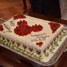 注文通りのケーキ!本当に満足でした!