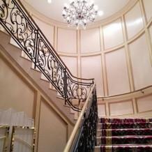 撮影スポット階段