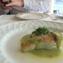 魚料理。これが一番の絶品でした。