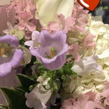 両親へのお花