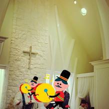 広々とした教会