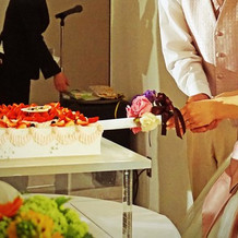 ケーキ入刀(二次会)