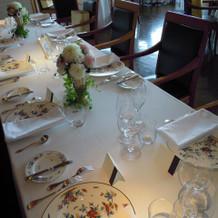 ゲストテーブル/親族席用の長机