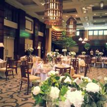 横浜迎賓館で一番広い会場サボイ