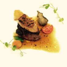牛ステーキ&フォワグラ