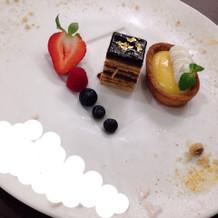 試食デザート1