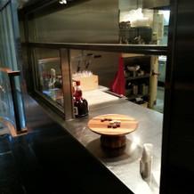 ウェルカムスペースのキッチン
