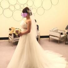 式、ウエディングドレス