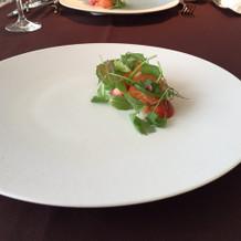 試食の前菜