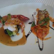 真鯛とオマール海老