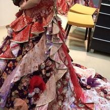 和風ドレス