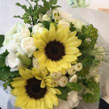 ブーケトス用のお花。