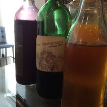 ノンアルコールのワインが2種類も!